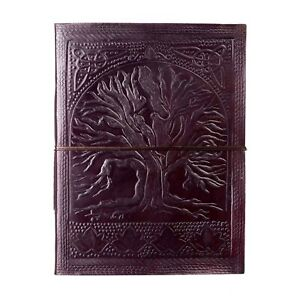 Tree Of Life Embossed Leather Photo Album, 30 pages, 240 6x4 or 120 7x5 Photos
