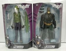 """Batman & Joker 10"""" Action Figure 2008 DC Mattel New RARE"""