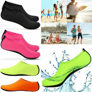 Children Adults Water Shoes Aqua Socks Diving Socks Pool Beach Swim Slip On Surf