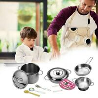 Melissa & Doug Stainless Steel Pots And Pans Pretend Play Kitchen Set For Kids