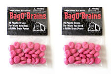 2 Bag O' Brains 50 Small Plastic Brain Markers Zombie Dice Zombies!!! TLC 2026