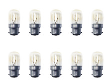 10 x Eveready 15W B22 / BC Pygmy Light Bulbs Dimmable Appliance Lamp S1053