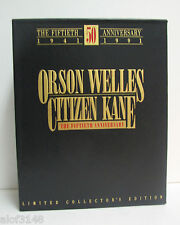 Citizen Kane 50th Anniversary - Ltd Collector's Edition Set Books VHS Photos