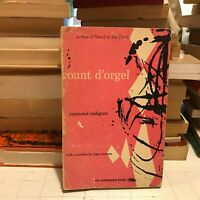Count d'Orgel Raymond Radiguet Jean Cocteau 1953 pb evergreen w/card rare book!