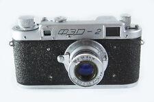 FED 2 Russian Leica Copy Camera FED Lens SQUARE WINDOW