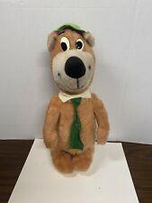 """Vintage Playtime Toys 17"""" Yogi Foam Plush Stuffed Animal Hanna Barbera"""