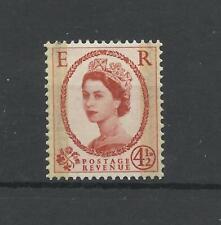 GB  1959  4.1/2d Wilding  Phosphor Graphite   umm / mnh