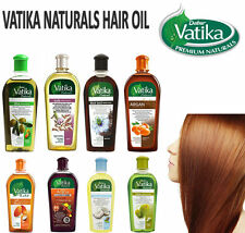 Dabur Vatika Enriched Natural Hair Oil Black Seed Coconut Argan Almond Olive Oil