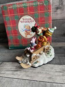 Winnie The Pooh - Pooh's Winter Wonderland Christmas Decoration