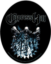 10199 Cypress Hill Skeletons Logo Hip Hop Rap 1990's Music Band Sticker / Decal