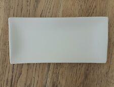Glass fusing slumping mould, rectangular wavy edge plate / dish, 22 x 10cm
