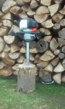 Screw Type Log Splitter Cone Petrol - earth drill into the ground - VIDEO