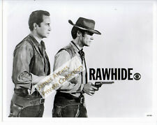 James Arness Gunsmoke Marshal Dillon Clint Eastwood Rawhide CBS Promo Photo #1