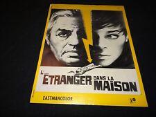 L'ETRANGER DANS LA MAISON Georges Simenon scenario dossier presse cinema 1966
