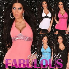 Polyester Clubwear Unbranded Sleeve Tops & Blouses for Women
