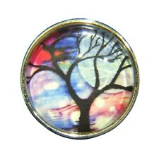 Noosa Style Chunks Ginger Snap Button Charms Chunk Snaps Tree Of Life 18mm