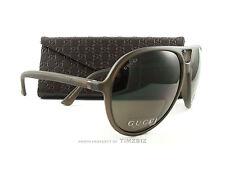 New Gucci Sunglasses GG 1090/s B00SP Matte Brown Polarized Aviator Authentic