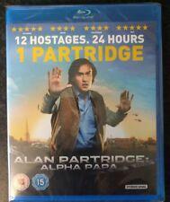 Alan Partridge - Alpha Papa (Blu-ray, 2013) brand new factory sealed