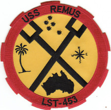 "5"" NAVY USS LST-7753 REMUS EMBROIDERED PATCH"