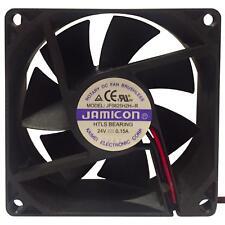 24V Case Cooling Fan JAMICON 80x80x25mm Heat Sink Fan