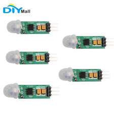 5pcs Mini Ir Human Sensor Detector Module Ir Pyroelectric Infrared Pir Motion