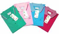 AUSTRALIAN L'ALPINA polo donna maglia maglietta t shirt cotone maniche corte