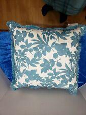 "Raymond Waites Decorative Embroidered Throw Pillow 20"" Fluffy"