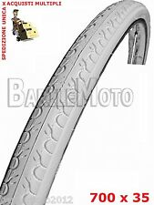 "Copertone / Pneumatico 28"" - 700 x 35 (37 - 622) Bici City Bike BIANCO"