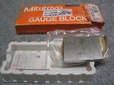 Mitutoyo Gauge Block Steel Jis1 Grade 50Mm 611675-031 New