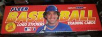 1989 Fleer Baseball Cards Factory Sealed 660 Trading Cards & 45 Stickers