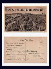 CANADA EDMONTON CENTRAL ALBERTA DEVELOPMENT LEAGUE LETHBRIDGE DRY FARMING 1912