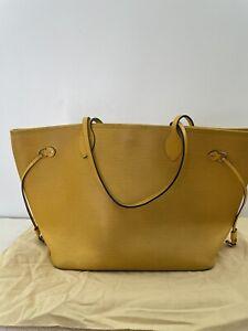 Louis Vuitton Epi Neverfull Yellow