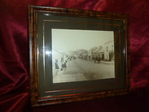 Vintage Photograph St Lahinch, Co Clare Ireland FRAMED Lawrence Collection 19thC