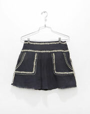 Above Knee Solid Regular Size 100% Cotton Skirts for Women