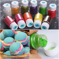 Soap Dye Shimmer Mica Powder Pigments For Bath Bomb Soap Making Cosmetic 10g