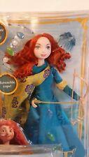 NEW Disney Pixar Brave Gem Styling Princess Merida Doll Bow Arrow Cape New NIB