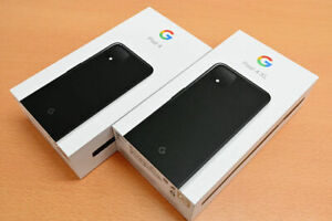 GENUINE GOOGLE PIXEL 4 / 4 XL EMPTY BOX WITH / WITHOUT ACCESSORIES BLACK / WHITE