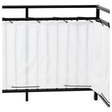 New listing Ikea Dyning White Balcony privacy screen Outdoor Shade Sun Wind Shield Nop Fresh