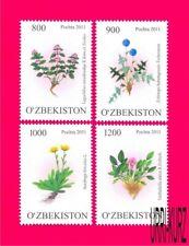 UZBEKISTAN 2011 Nature Flora Plants Flowers 4v Mi 923-926 MNH
