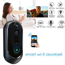 Smart Wireless WiFi Doorbell HD Camera IR Video Phone Intercom Home Security
