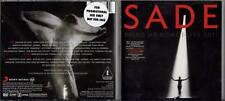 Sade MINT CD + DVD Bring Me Home : Live 2011 (PROMO STICKER)