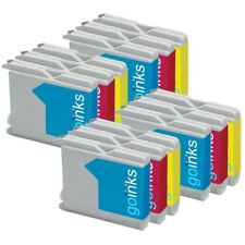 12 C/M/Y Ink Cartridges compatible with Brother DCP-135C, DCP-150C, DCP-153C