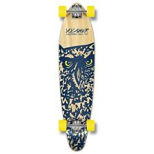 Yocaher Complete Spirit Owl Kicktail Longboard