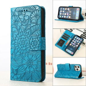 Case For iPhone 12 Pro Max 11 XR XS X 8 7 Card Slot PU Leather Skin Wallet Cover