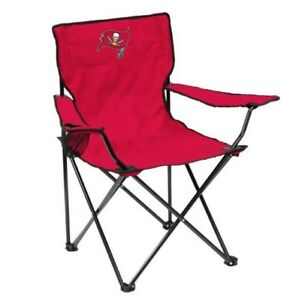 NFL Tampa Bay Buccaneers Foldable Chair Outdoor Football Tailgating Camp Hiking