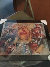 ST LOUIS CARDINALS WORLD SERIES LEGENDS Framed Print New in box