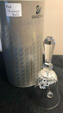 Swarovski Crystal Medium Table Bell A 7467 NR 054 00 Box & COA 013918