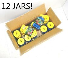 12 Predator .50 caliber paintballs 250 jar Splatballs Blue splat master Bulk Lot