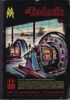 Katalog Die Technik 3/1961 VEB Elektrokohle Lichtenberg/Messe Leipzig mehrsprach