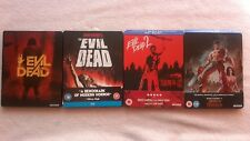 Evil Dead 1,2,3 + REMAKE RARE LIMITED EDITION BLU RAY STEELBOOK  VGC HORROR RB
